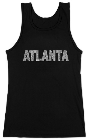 Juniors: Tank Top - Atlanta Neighborhoods T-shirts