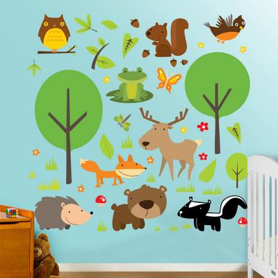 Collezione Wildlife (sticker murale) Decalcomania da muro