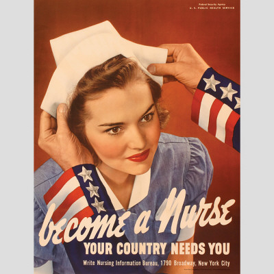 Become a Nurse Your Country Needs You Vinilos decorativos