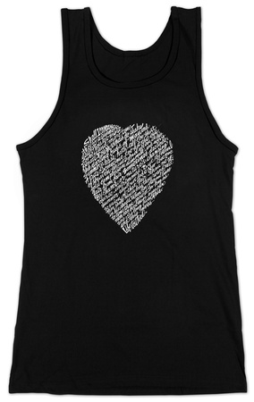 Juniors: Tank Top - Shakespeare Sonnet 18 T-Shirt