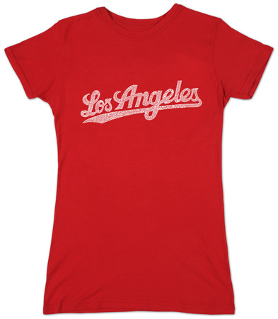 Juniors: Los Angeles Neighborhoods T-Shirt