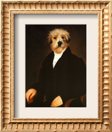 Ancestral Canine I Framed Art Print