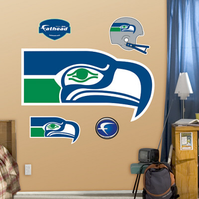 Seattle Seahawks Classic Logo Wall Decal
