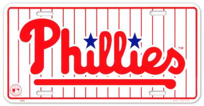 Phillies Tin Sign