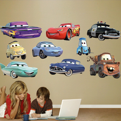 Cars Collection Wall Decal