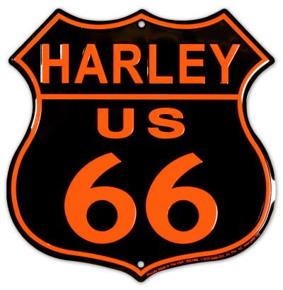Harley Plechová cedule