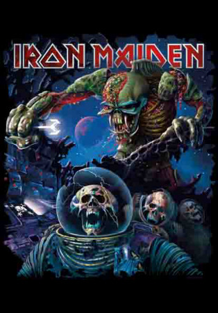 Iron Maiden - Frontiers Album Cover Fabric Poster