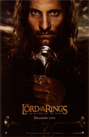 Lord of the Rings: The Return of the King Masterprint