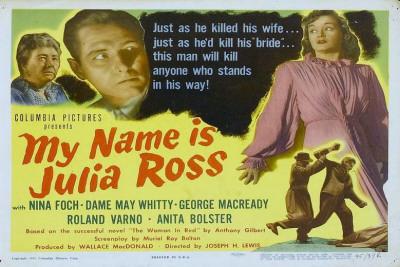 My Name is Julia Ross Masterprint