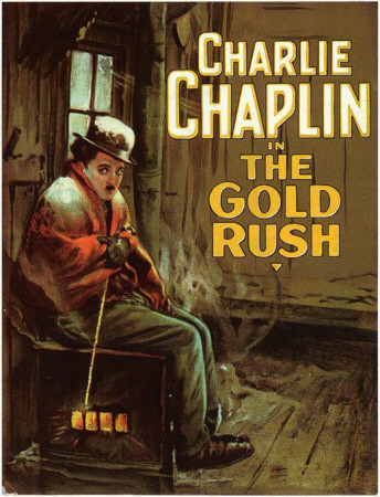 The Gold Rush Masterprint