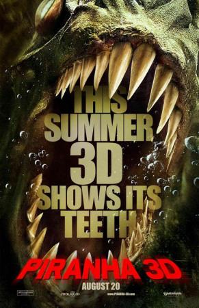 Piranha 3-D Masterprint!
