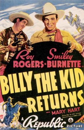 Billy The Kid Returns Masterprint