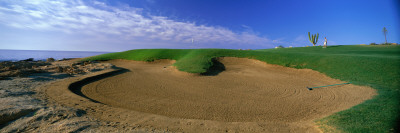 Sand Bunker Hotel Fiesta Americana Golf Course, Los Cabos, Mexico Wall Decal by  Panoramic Images