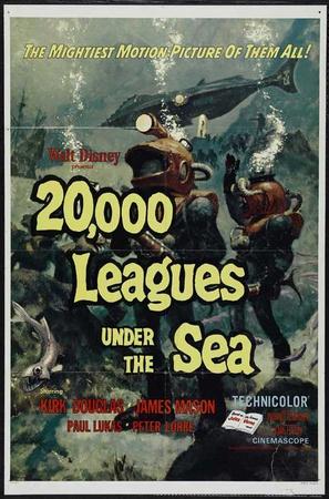 20,000 Leagues Under the Sea Masterprint