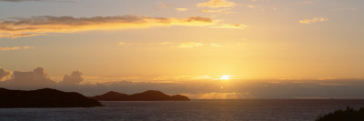 Sunrise East End St. John, Virgin Islands Wall Decal by  Panoramic Images
