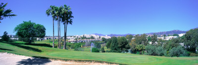 Golf Course, Marbella, Andalucia Wall Decal by  Panoramic Images