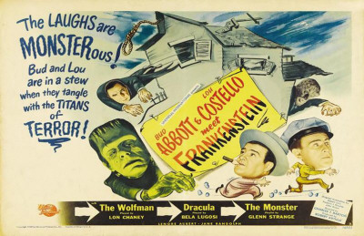 Bud Abbott Lou Costello Meet Frankenstein Masterprint