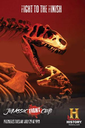 Jurassic Fight Club Masterprint