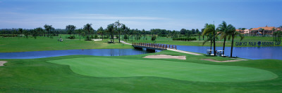Golf Course Gold Coast, Queensland, Australia Wall Decal by  Panoramic Images