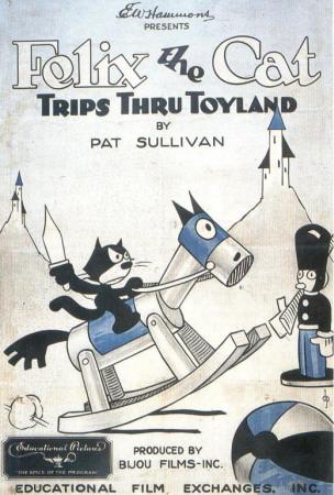 Felix the Cat Trips Thru Toyland Masterprint