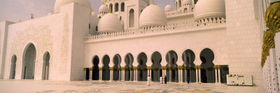 Courtyard of a Mosque, Sheikh Zayed Mosque, Abu Dhabi, United Arab Emirates Wall Decal