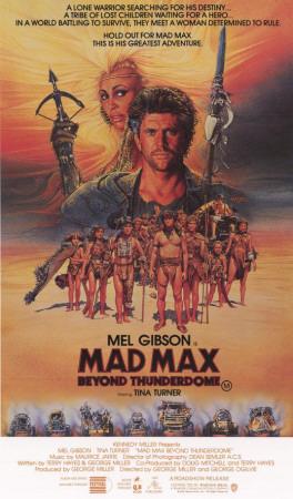 Mad Max Beyond Thunderdome Masterprint