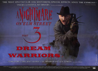 A Nightmare on Elm Street 3: Dream Warriors Lámina maestra
