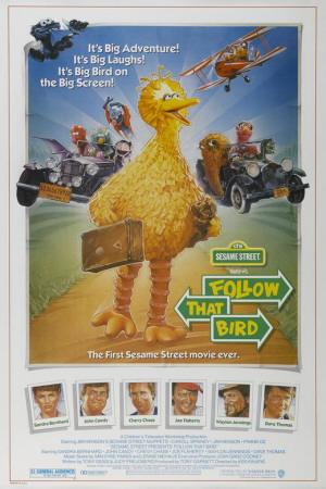 Sesame Street Presents: Follow that Bird Masterprint