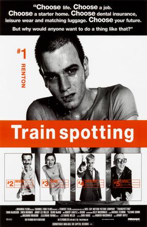 Trainspotting Masterprint
