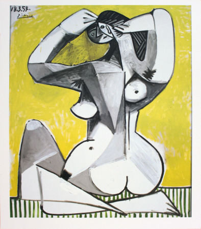 Nu Accroupi Collectable Print by Pablo Picasso