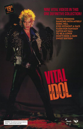 Billy Idol: Vital Masterprint