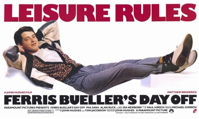 Ferris Bueller's Day Off Masterprint
