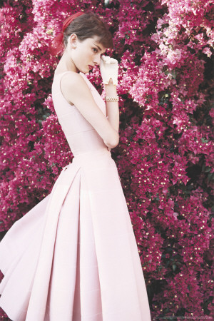 Audrey Hepburn-Dress poster