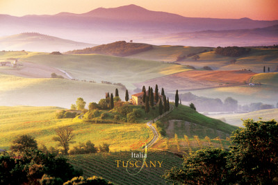 Italy-Tuscany Pster