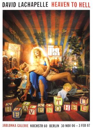 Kurt Cobain & Courtney Love Collectable Print by David Lachapelle