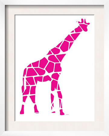 Pink Reticulated Posters by  Avalisa