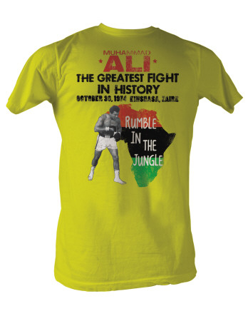 Muhammad Ali - Rumble Jungle T-Shirt