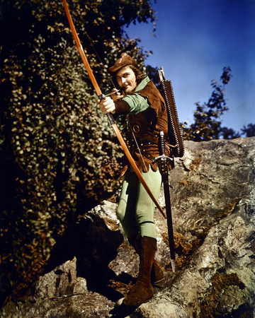 Errol Flynn - The Adventures of Robin Hood Photo!