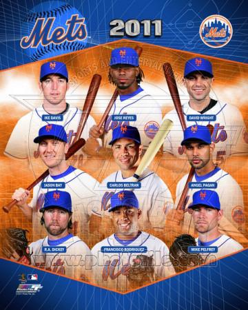 New York Mets 2011 Team Composite Photo