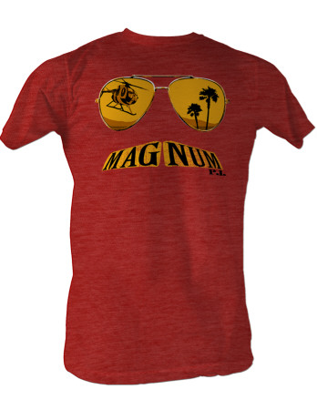 Magnum P.I. - Mustache T-Shirt