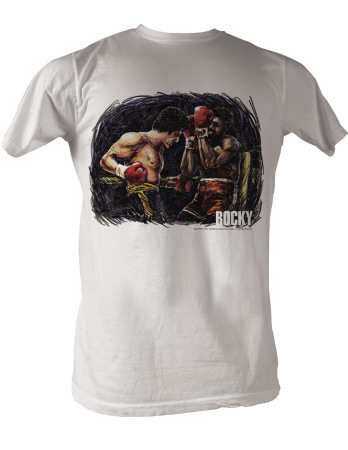 Rocky - Rocky Vs. Apollo Painting T-Shirt