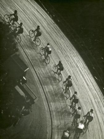 Bike Race Lámina fotográfica por George Marks