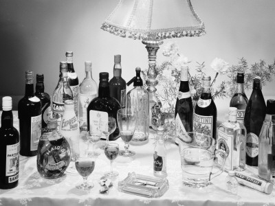 Christmas Drinks Photographic Print by Chaloner Woods