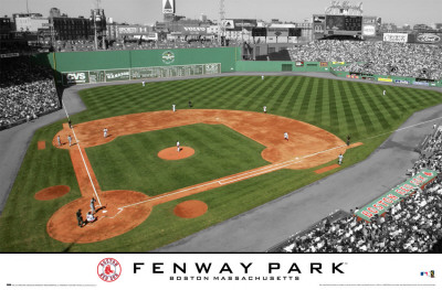 Red Sox - Fenway Park 2 Poster