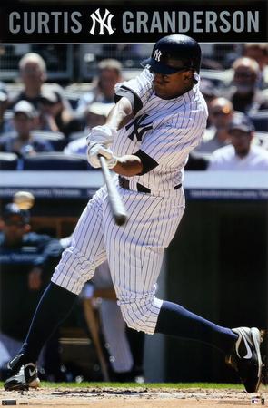 Yankees - C Granderson 10 Posters