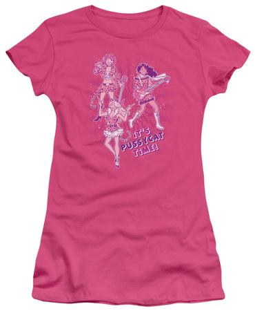 Juniors: Archie Comics-Its Pussycat Time Shirt