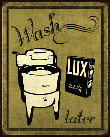 Wash Poster by N. Harbick