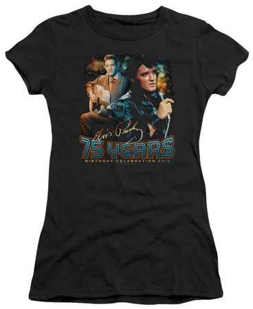 Juniors: Elvis – 75 Years T-Shirt