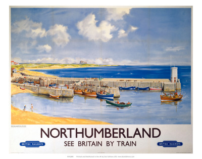 Northumberland, BR, c.1948-1965 Reproduction d'art