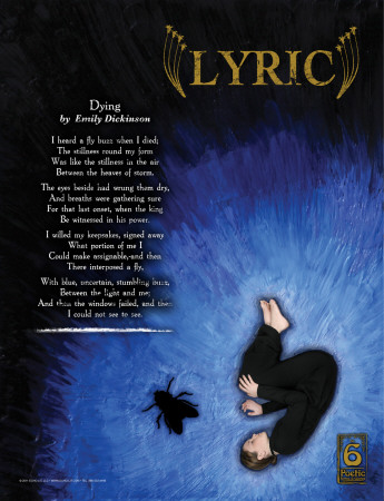 Lyric Poetry Form Print by Jeanne Stevenson